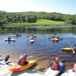 Kayaking at Cappanalea